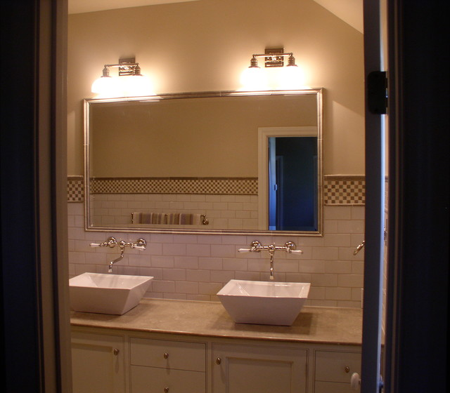 Westport Custom Home modern-bathroom