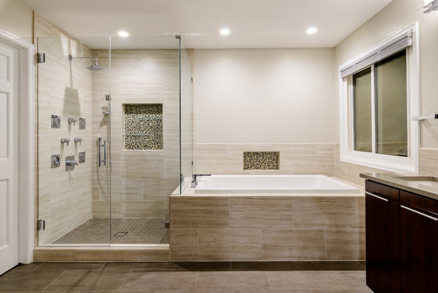 Westside Contemporary - Contemporary - Bathroom - Denver ...