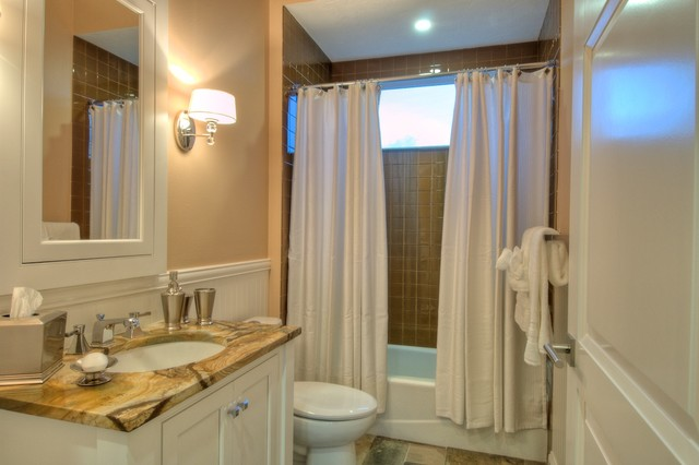 Westwater Construction The Bonaventure traditional-bathroom