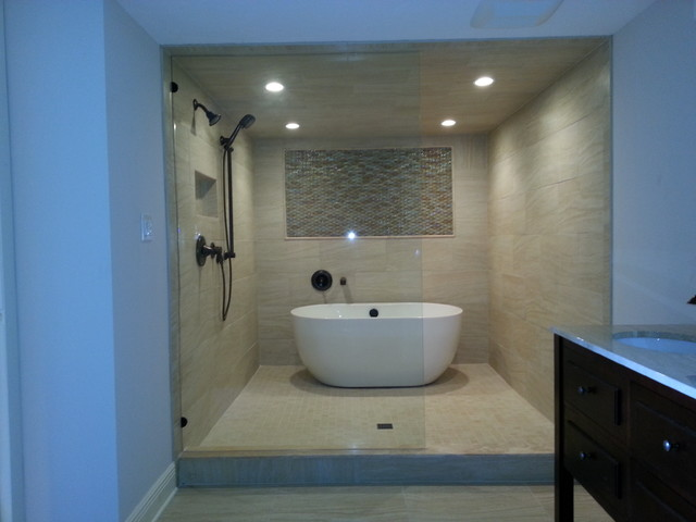 Wet Room Contemporary Bathroom Tampa By Dan