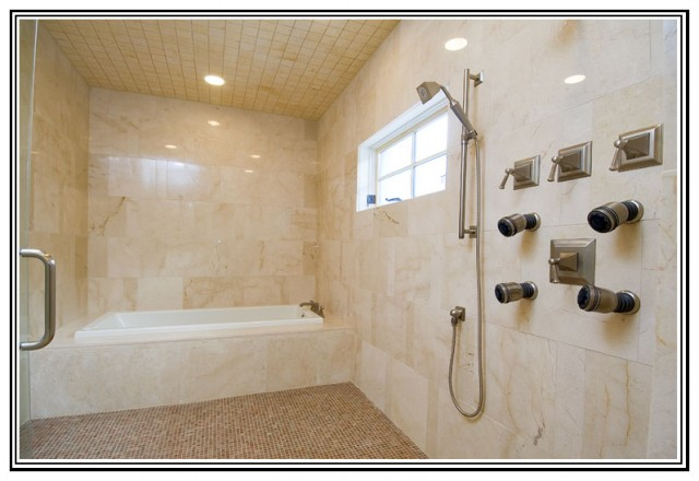 Wet room modern bathroom austin by soledad for Wet room or bathroom