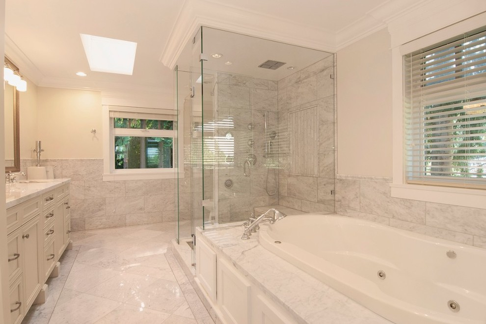 Inspiration for a timeless bathroom remodel in Vancouver