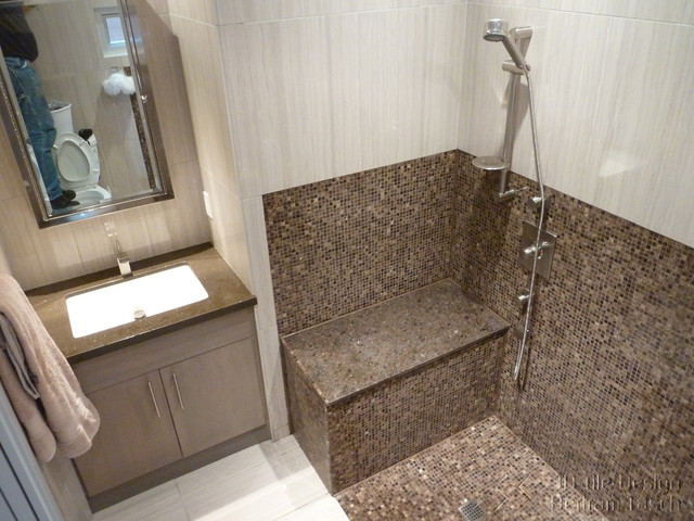 Wheelchair accessible disability shower west vancouver modern bathroom vancouver by 3d - Handicapped accessible bathroom plans ...
