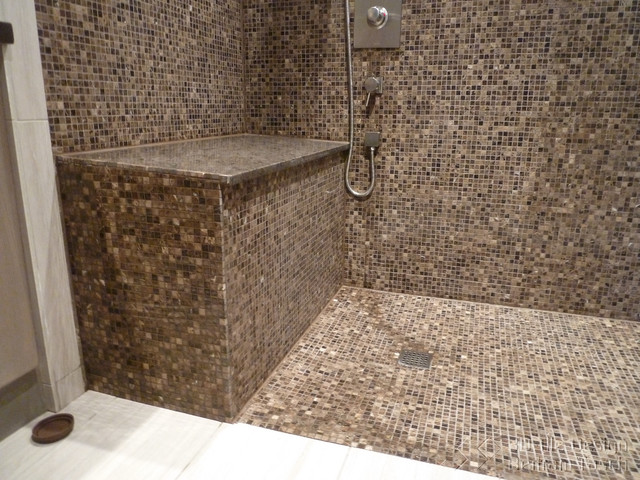 Wheelchair Accessible Disability Shower - West Vancouver modern-bathroom