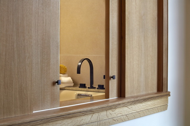 While at CHil Design Group contemporary-bathroom