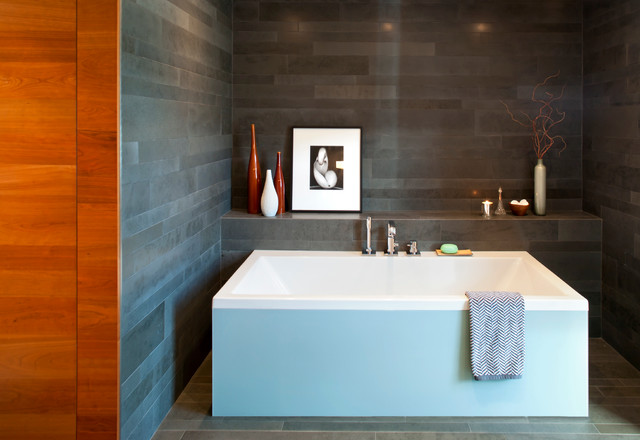 Whistler Residence modern-bathroom