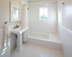 White Bathroom contemporary-bathroom