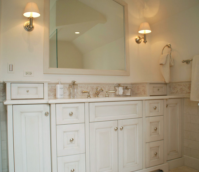 White Bathroom Vanities traditional-bathroom