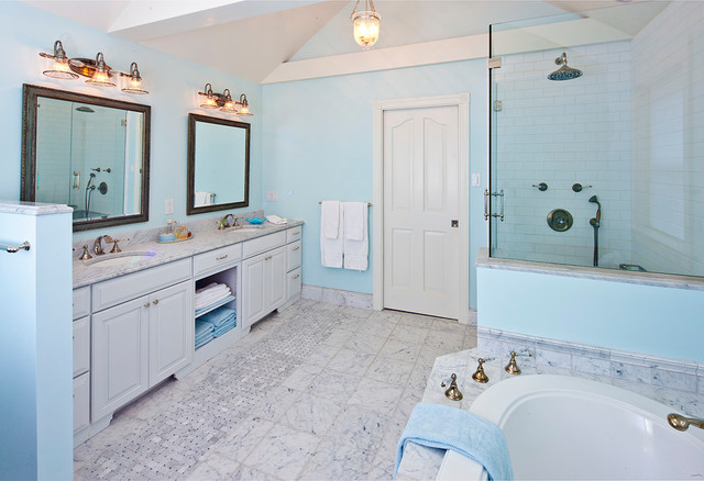 Existing Projects traditional-bathroom