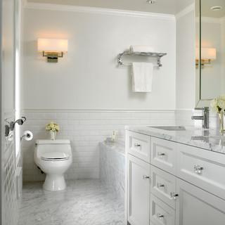Exellent Simple White Bathrooms Modern Bathroom Ideas For
