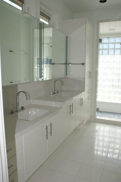 Bathrooms contemporary bathroom houston by for Bathroom designs houston