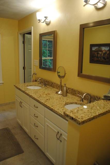 White Bathroom Cabinets With Granite white bathroom cabinets with granite. http www houzz com photos