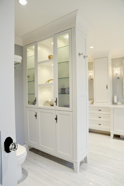White Rock traditional-bathroom