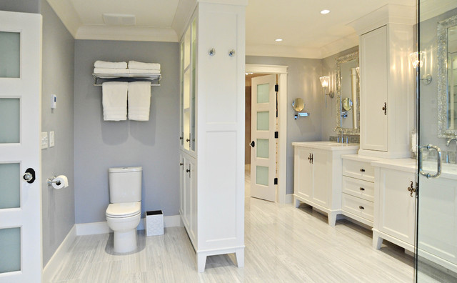 White Rock - traditional - bathroom - vancouver - by Enviable