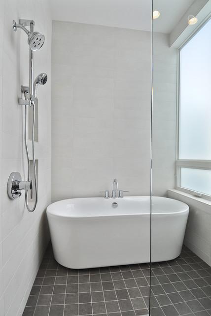 White Rock House traditional-bathroom
