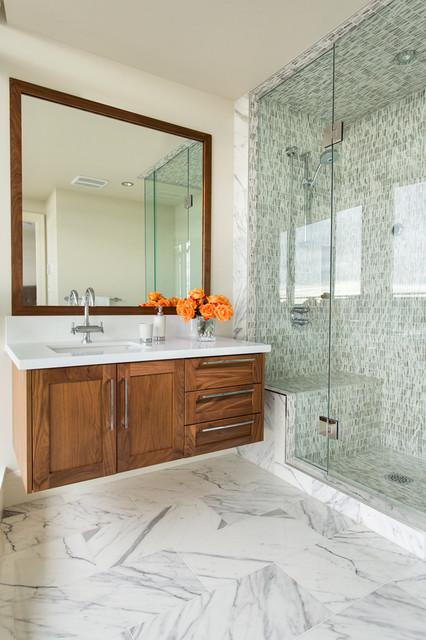White Rock Penthouse Contemporary Bathroom Vancouver