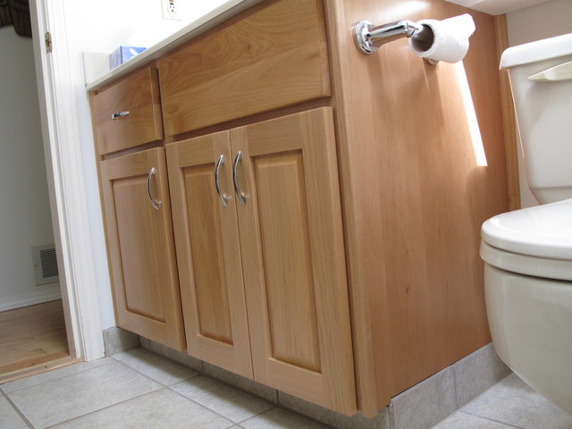 Kitchen solvers of greater vancouver kitchen bathroom fitters - White Rock Rancher Bathroom Contemporary Bathroom