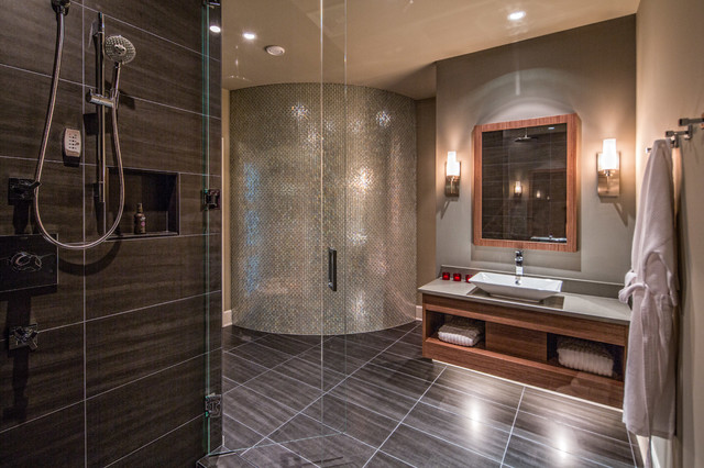 White Rock Residence Contemporary Bathroom Vancouver