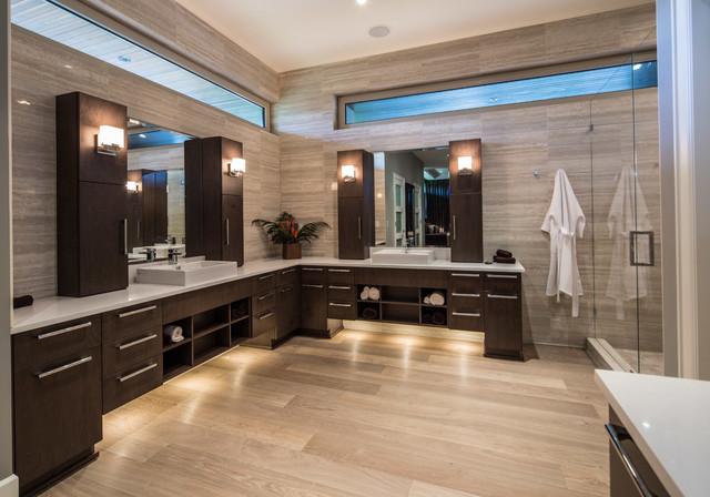 White Rock Residence contemporary-bathroom
