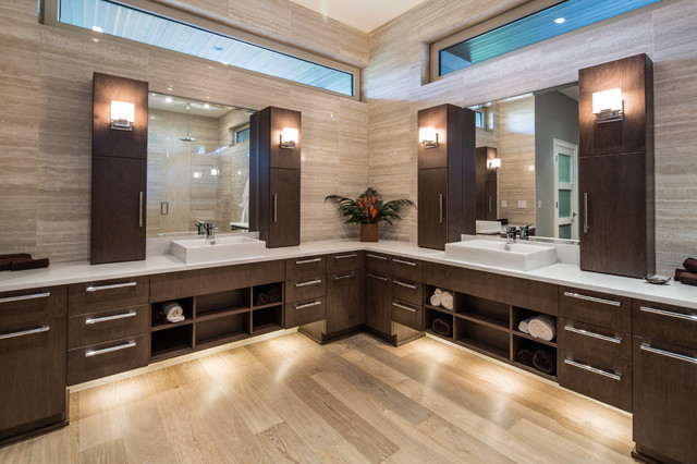 White Rock Residence contemporary-bathroom