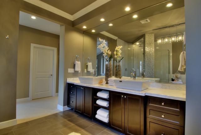 White rock show home bathroom for Show home bathrooms