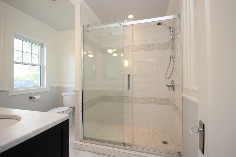 White spa bathroom - Transitional - Bathroom - Ottawa - by ...