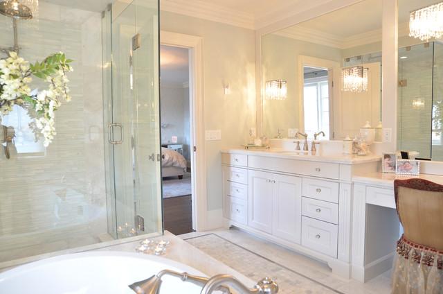 White Vanity - Traditional - Bathroom Vanities And Sink ...