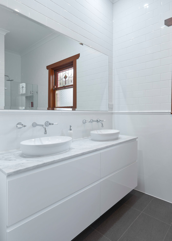 White Wonderland - Traditional - Bathroom - Adelaide - by ...