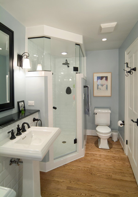 Whitefish bay whole house remodel traditional bathroom for Whole bathroom remodel