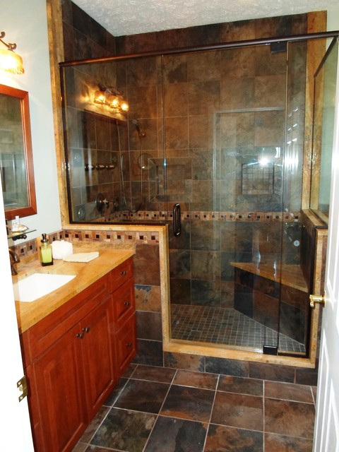 Whitehouse Transitional Bathroom Cleveland By