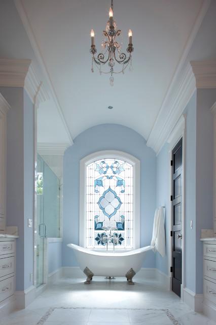Whitestone Builders Italianate Transitional Bathroom
