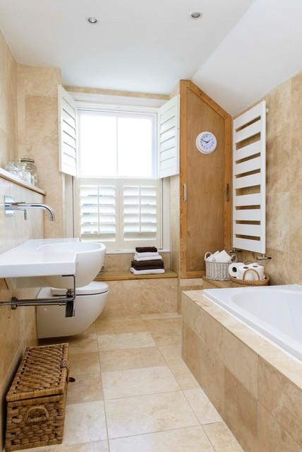 WHITSTABLE ISLAND COTTAGE coastal-bathroom