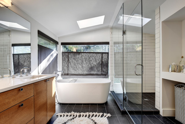Whole home custom interior remodel contemporary for Whole bathroom remodel