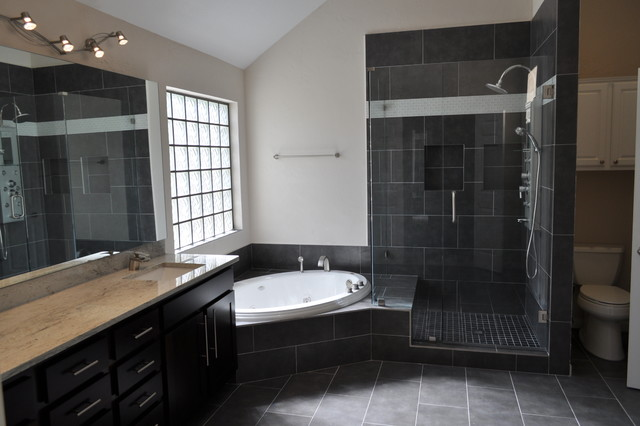 Whole House Remodel Addison Tx Contemporary Bathroom Dallas By Millwood Remodeling