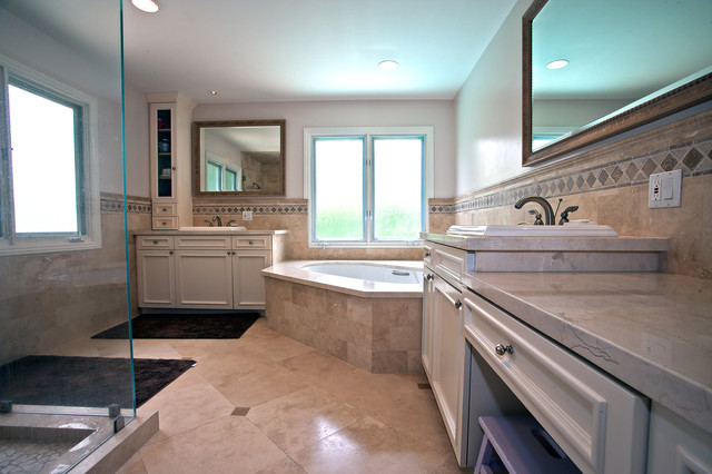 Whole house remodel and second floor addition in encino for Whole bathroom remodel
