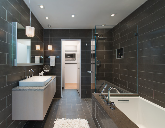 Whole House Remodel Bethesda MD Contemporary Bathroom DC - Bathroom remodeling bethesda md