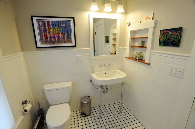 Whole house remodel traditional bathroom burlington for Whole bathroom remodel