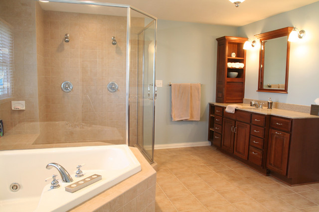 Whole house remodel project in greenwood indiana traditional bathroom indianapolis by for Bathroom remodel greenwood in