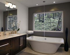 Whole House Renovation - Beechwood modern-bathroom