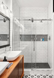 Wicker Park Bathroom Renovation Contemporary Bathroom Chicago By Devon Grace Interiors
