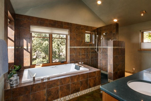 Wilderness gate contemporary bathroom other by for Bathroom gate design