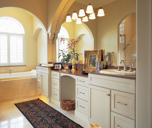 Williamsburg Collection By Dynasty Cabinetry traditional-bathroom