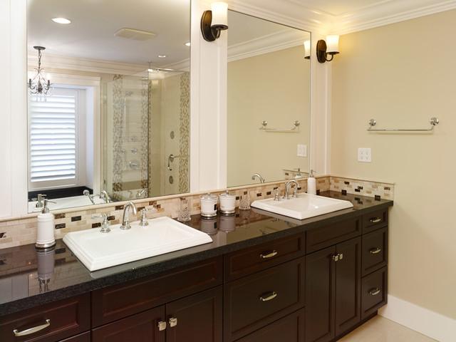 Willingdon Residence transitional-bathroom
