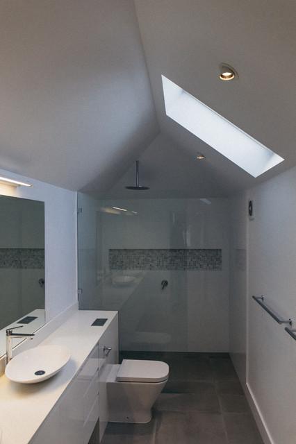 willoughby contemporary bathroom sydney by a cut