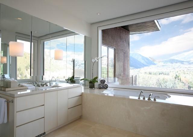 Willoughby Bathroom Contemporary Bathroom Denver
