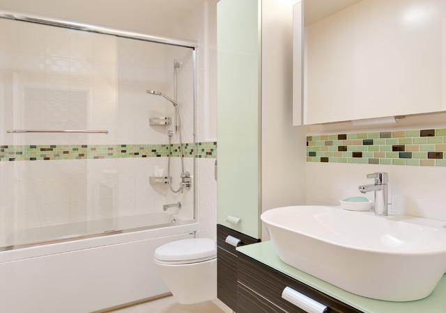 Willow Glen Bathrooms contemporary-bathroom