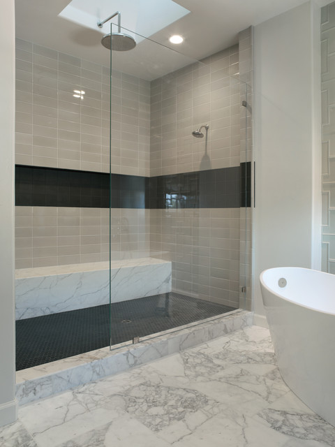 Willow glen residence contemporary bathroom san for Small 4 piece bathroom