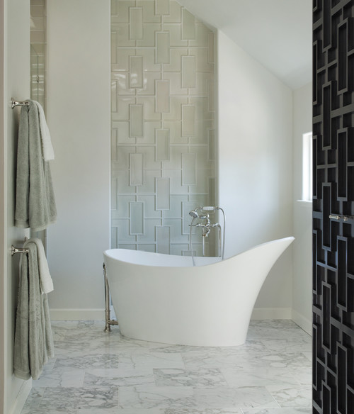 Bathroom Tile Contractor: Debbie Evans Interior Design Consultant West Vancouver