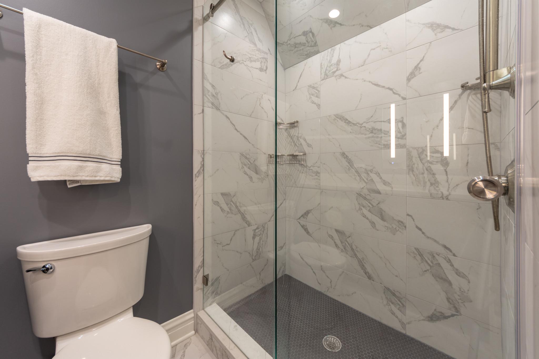 Wilmette Closet Conversion Bathroom