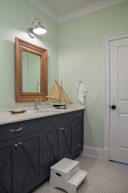 Wilmette Family Home - Transitional - Bathroom - chicago ...